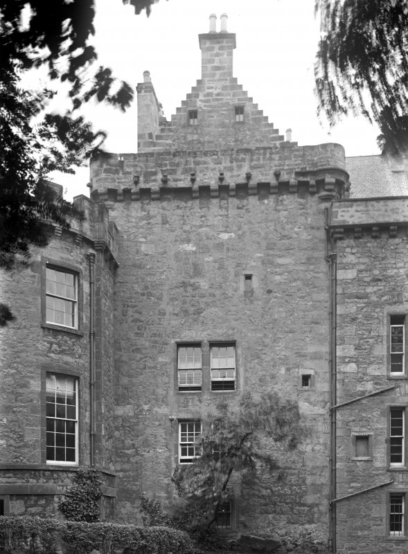 Merchiston Castle View from East