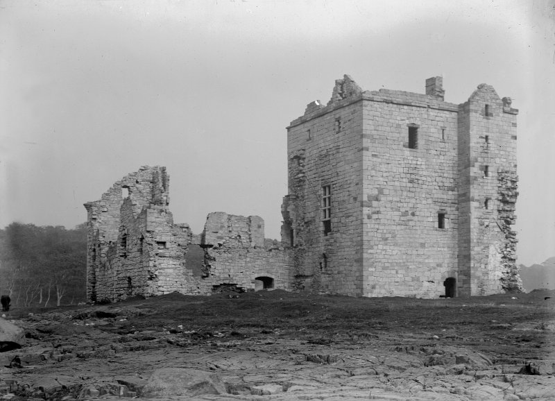 General view of Rosyth Castle