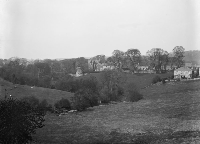 General view  of Castle and Dovecot