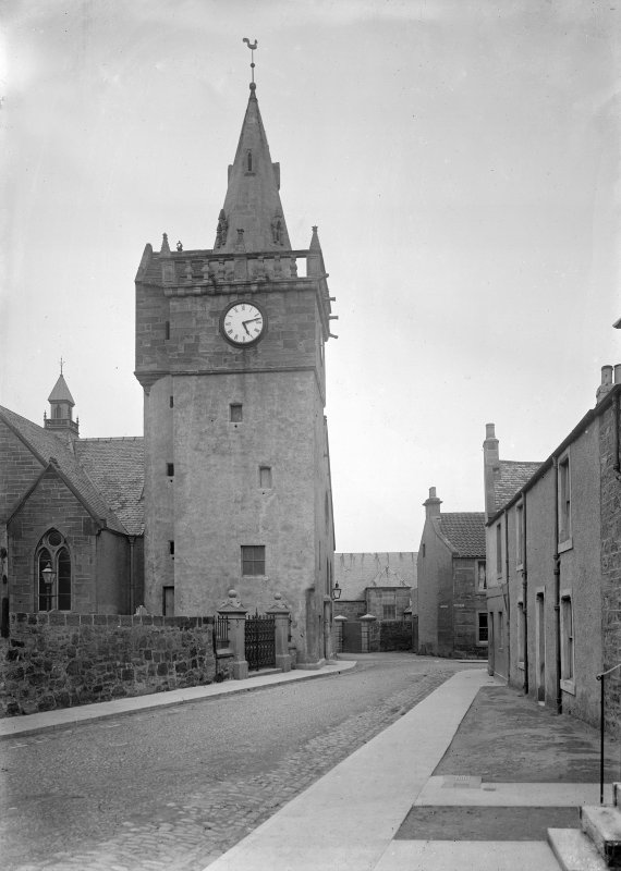 Looking from Kirkgate towards Church
