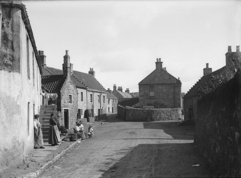 View of Castle Street, Crail.
