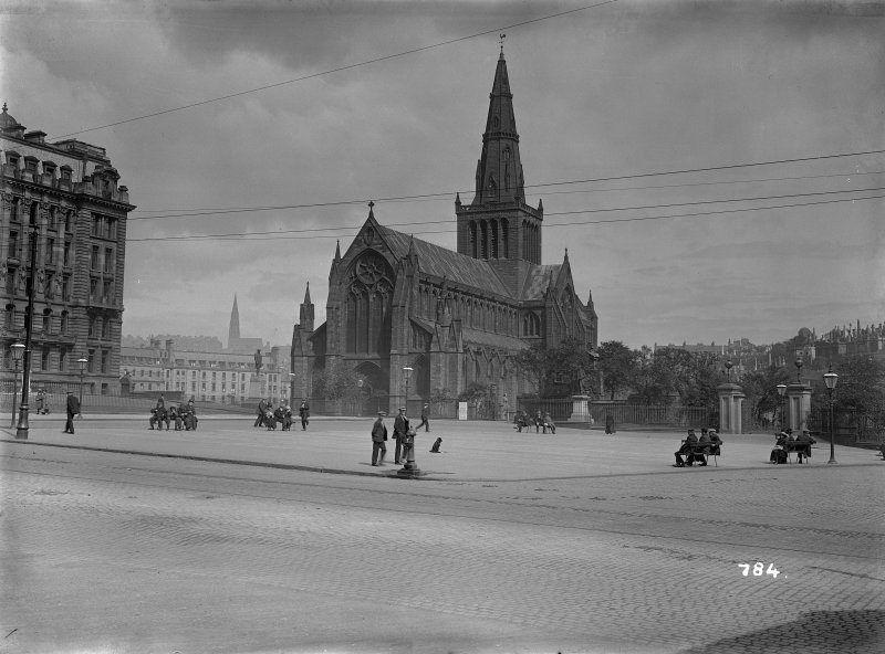 General view from W Cathedral Square, Glasgow.