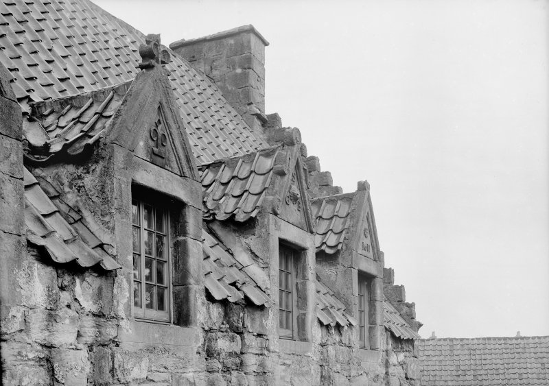 Gables of east wing