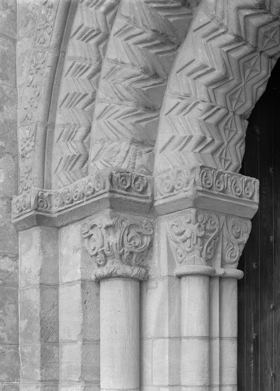 Capitals, east processional doorway