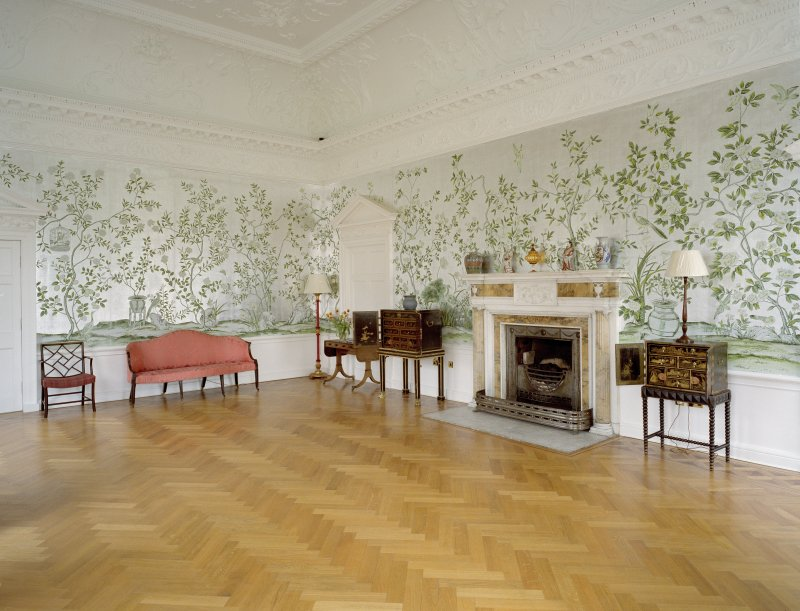 Interior.  Ground floor, Chinese drawing-room, view from SW