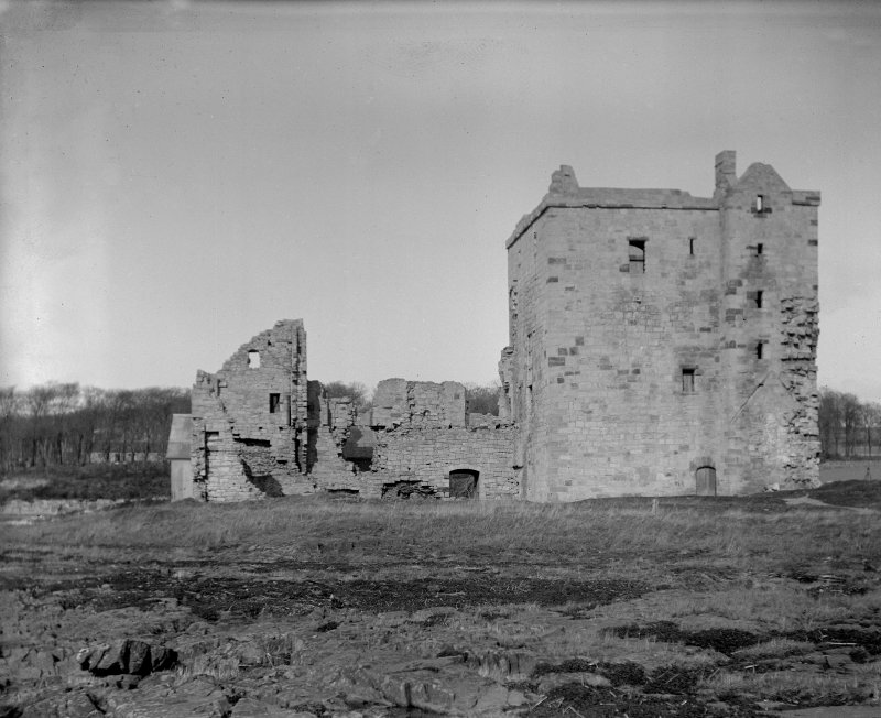 General view of Rosyth Castle.