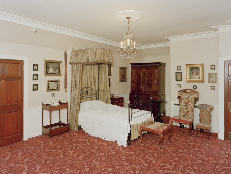 View from North West of the Banff room, first floor of Leith Hall, Aberdeenshire