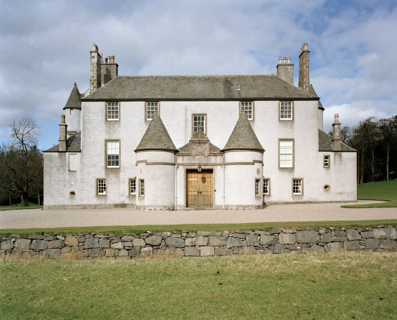 Leith Hall, exterior.  View from East