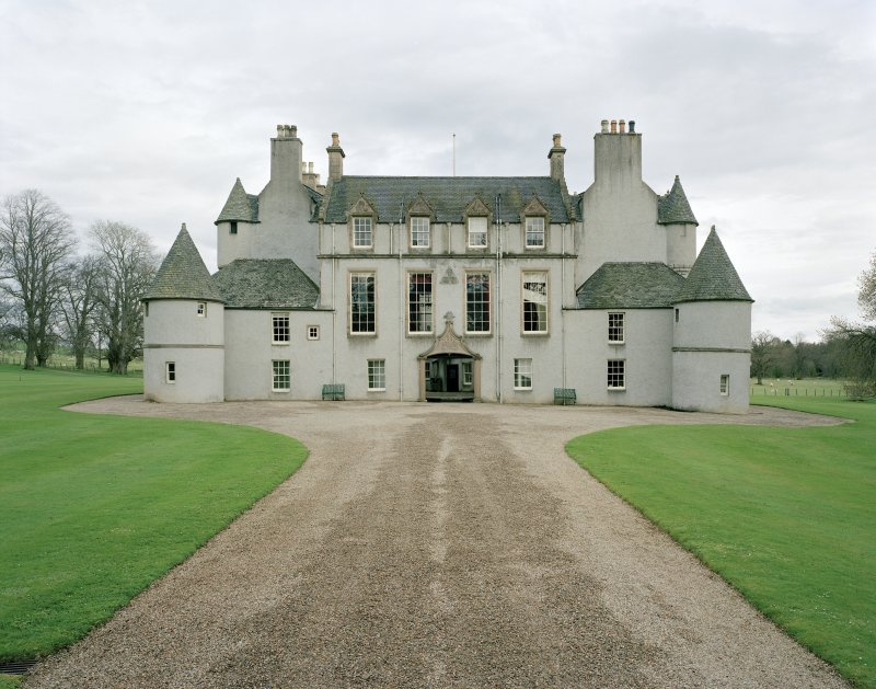 Leith Hall, exterior.  View from West