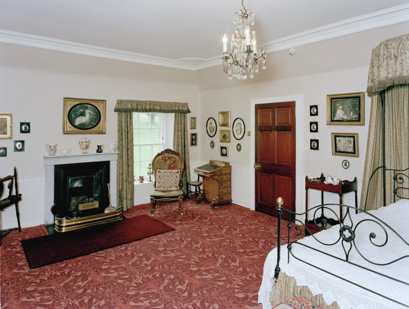 Leith Hall, interior.  First floor. Banff room: view from South West