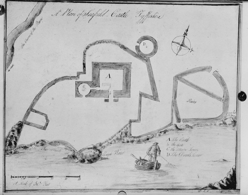 Photographic copy of drawing dated 1774.