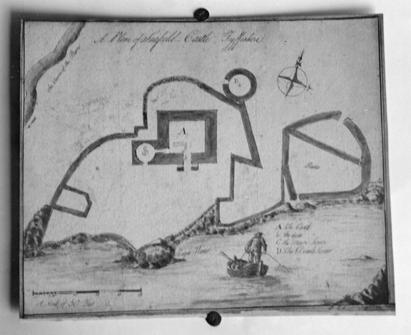 Photographic copy of plan dated 1774