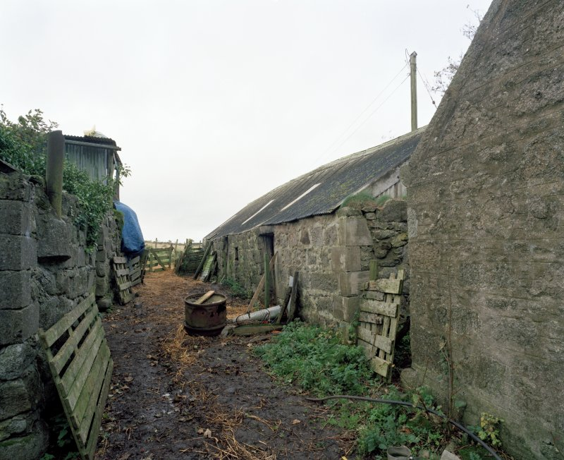 View of byre from ESE