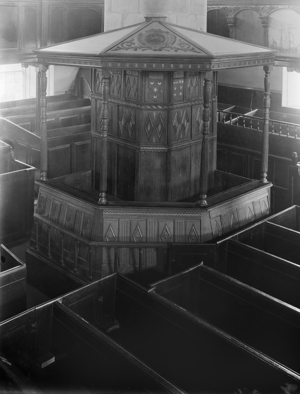 View of 'Magistrate's Pew'
