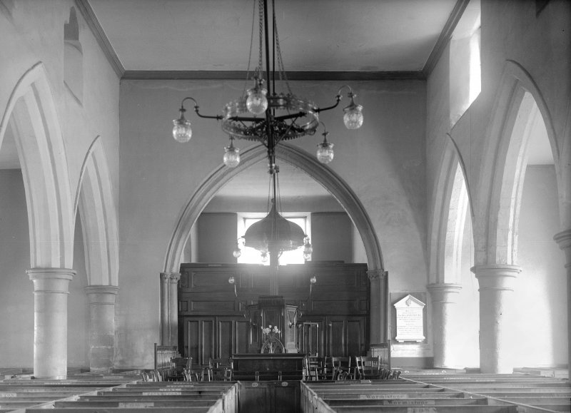 Interior showing Chancel Arch