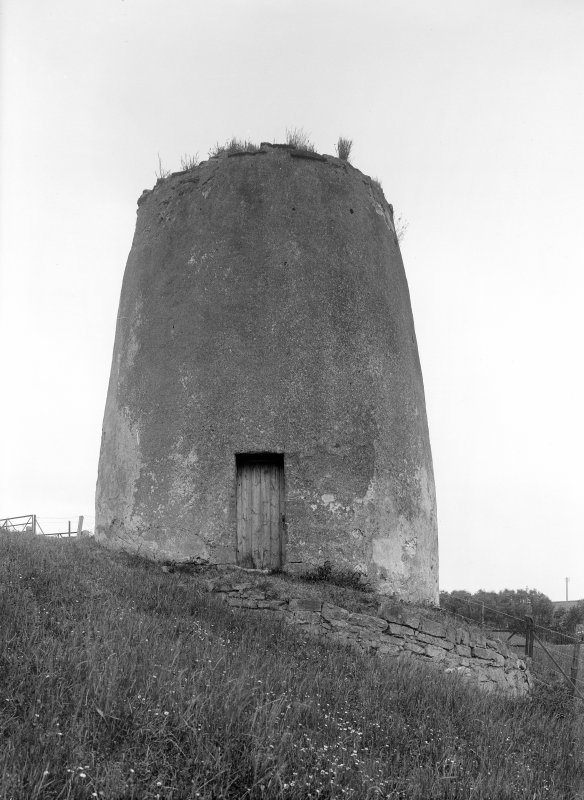 General view of Craill Priory dovecot. Scanned image.