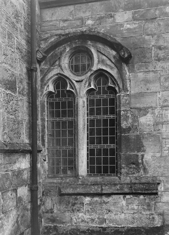 Chapel window, north transept