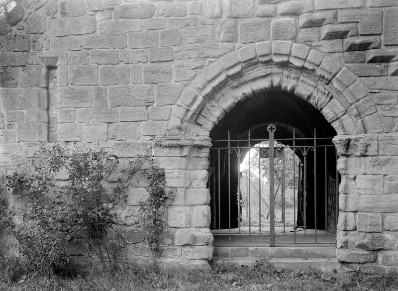 Entrance west range of cloister
