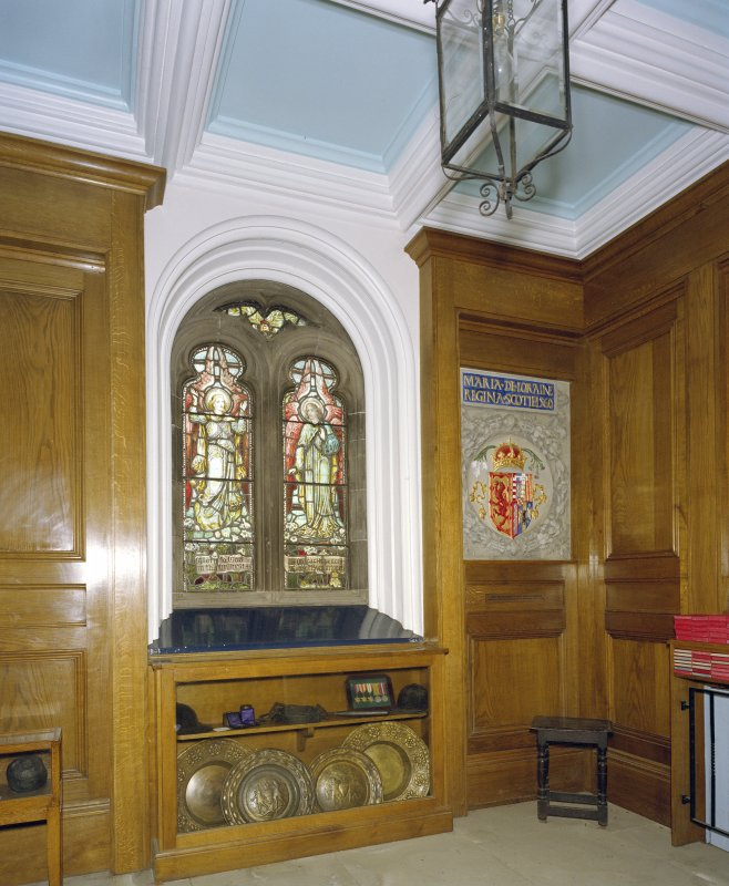 Interior, north west vestibule, view from south west