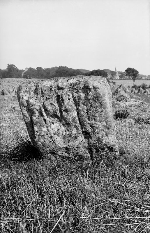 View of Skeith Stone (non carved side)