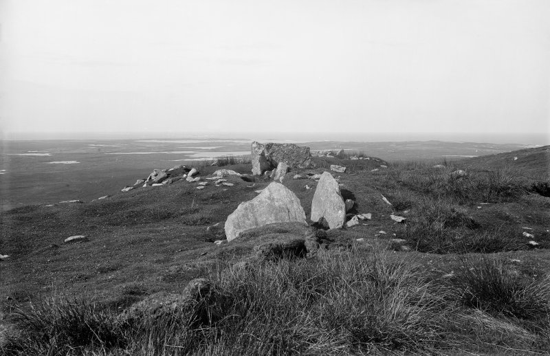 General view of cairn