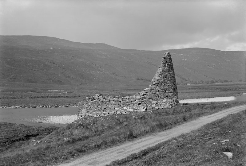 General View of broch from above the road