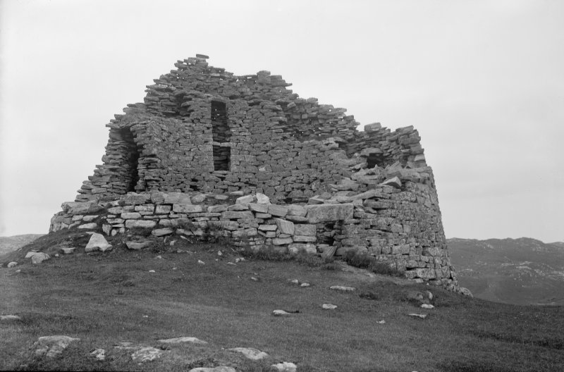 Lewis, Dun Carloway. View from west.