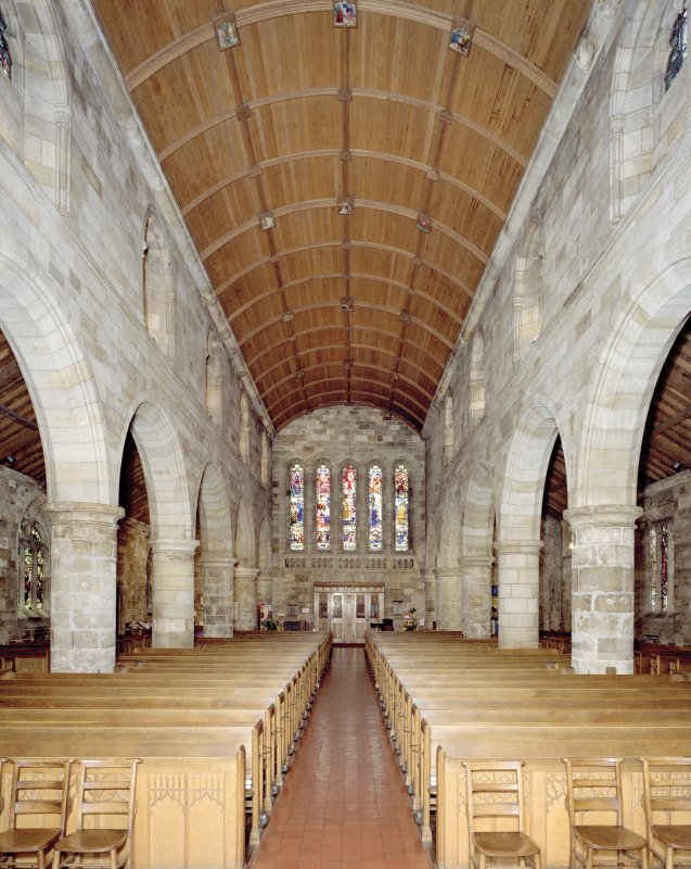 Interior from E of The Parish Church Of The Holy Trinity, St Andrews.