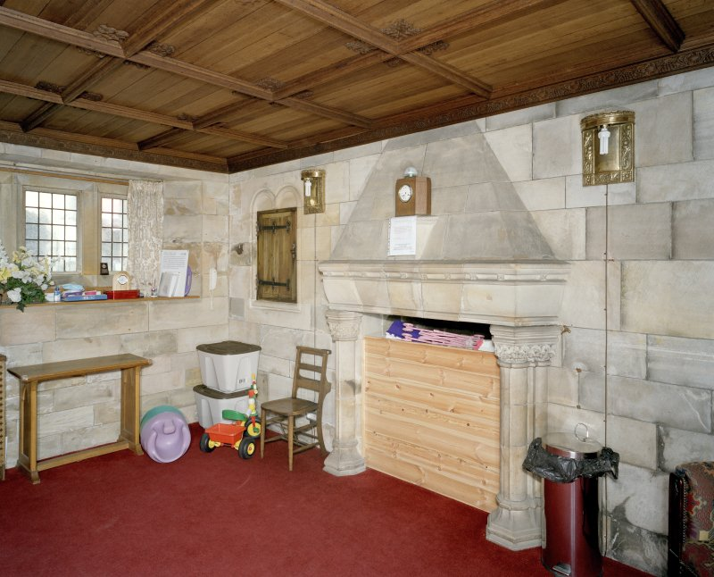 Interior. View of vestry