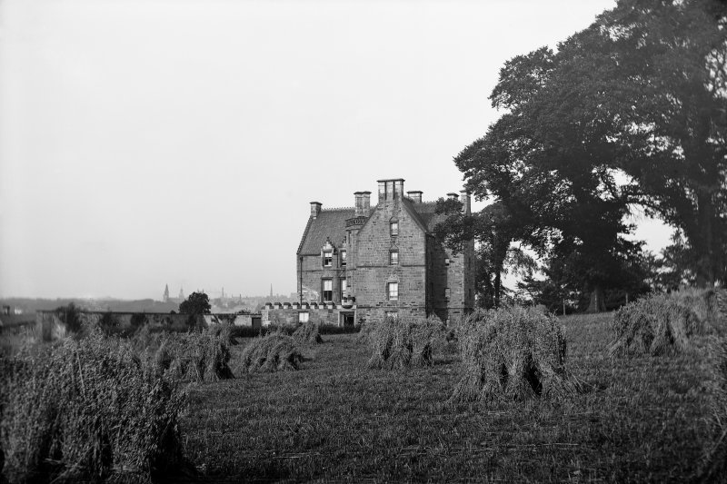 General view of house and farm buildings