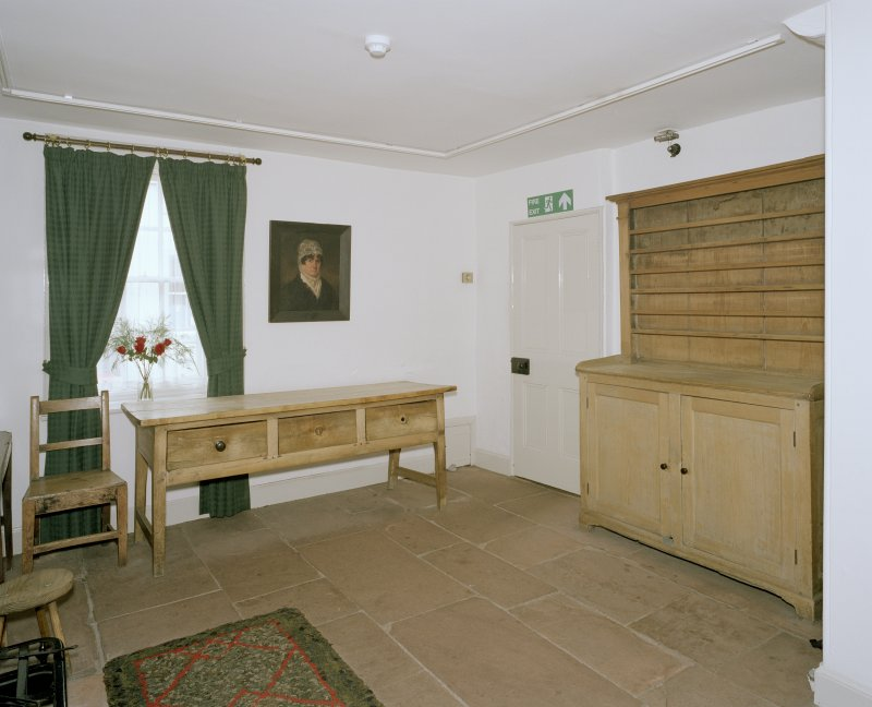 Interior. Ground floor, S room, view from E