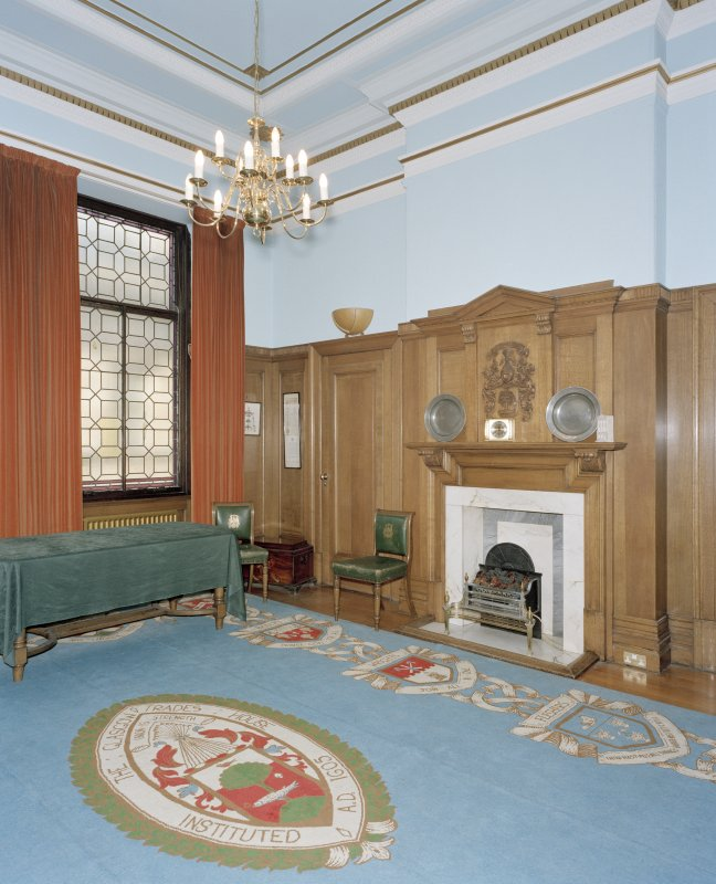 Interior, 1st floor, convenor's room, view from south west