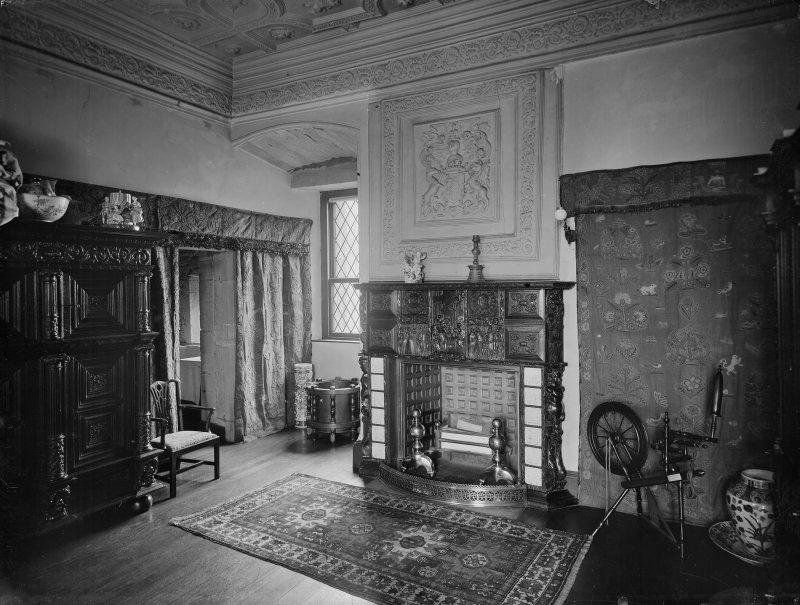 Interior view of Malcolm's Room.