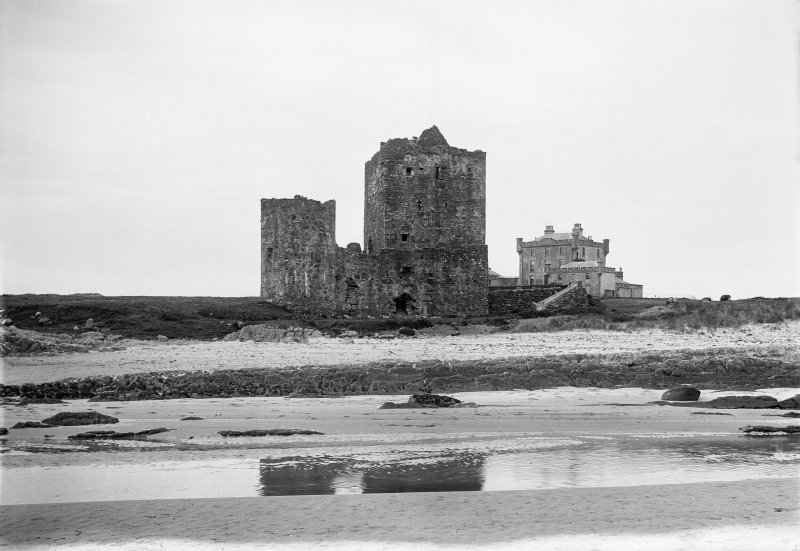 Coll, Breachacha Castle. General view from North-West.