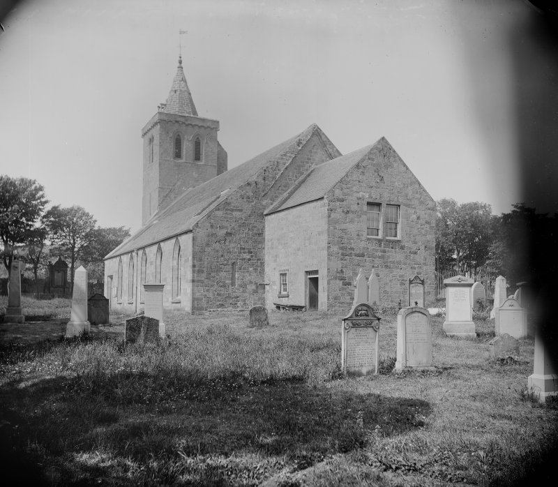 View from east of Church and churchyard