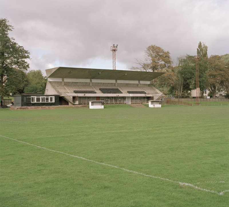 General view of W stand from SE.