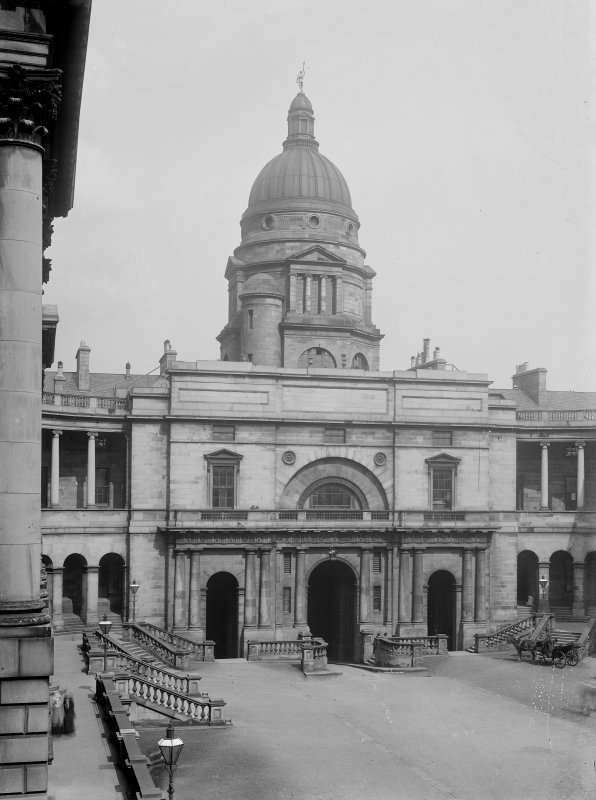General view of Quadrangle looking towards dome