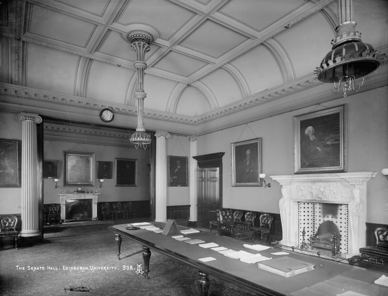 Interior-general view of the Senate Hall