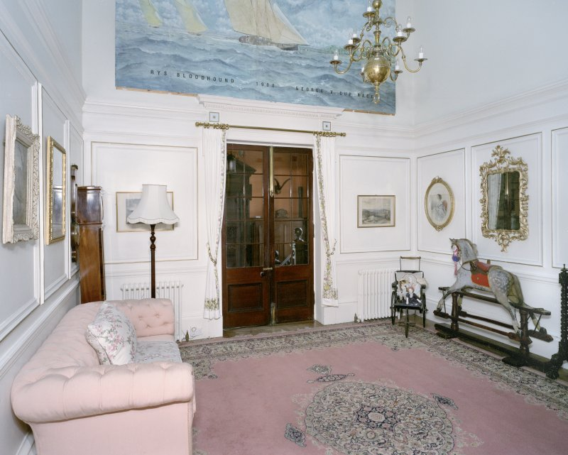 Interior. Ground floor. Inner hall