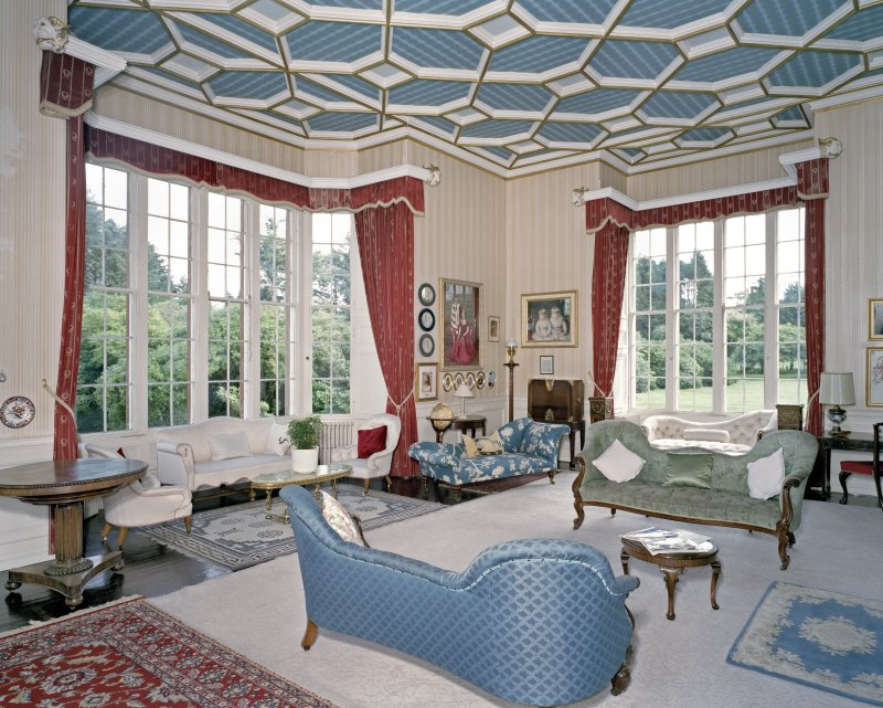 Interior. Ground floor. Drawing room