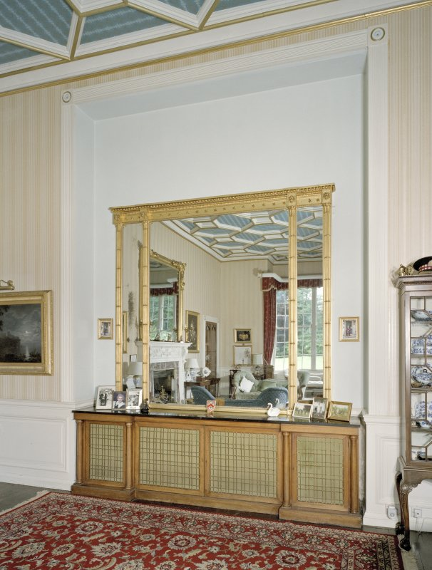 Interior. Ground floor. Drawing room. Buffet niche. Detail
