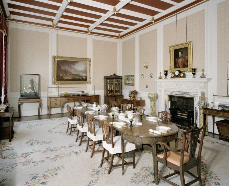 Interior. Ground floor. Dining room
