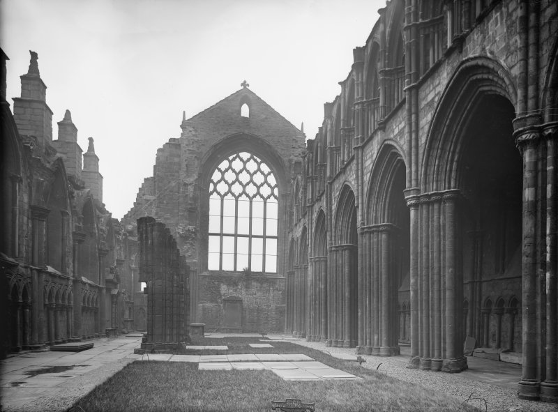General view to East end of Holyrood Abbey (Chapel Royal)
