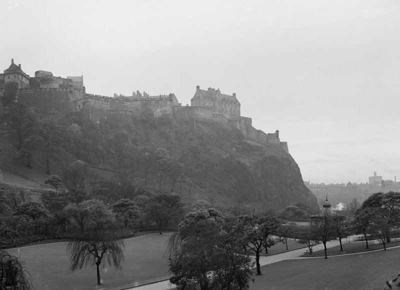 North East view from Princes Street