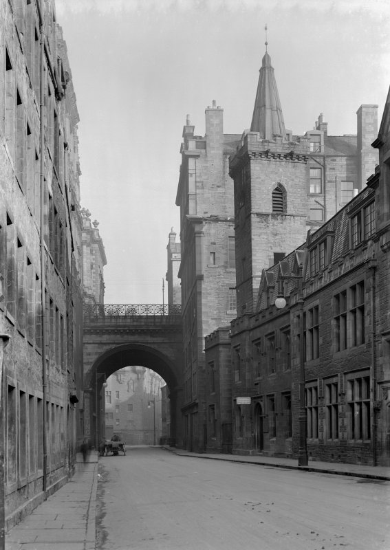 General view looking Eastward along Cowgate.