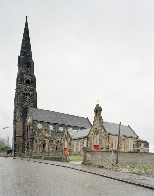 Glasgow, Townhead and Blochairn Parish Church. General view from West.