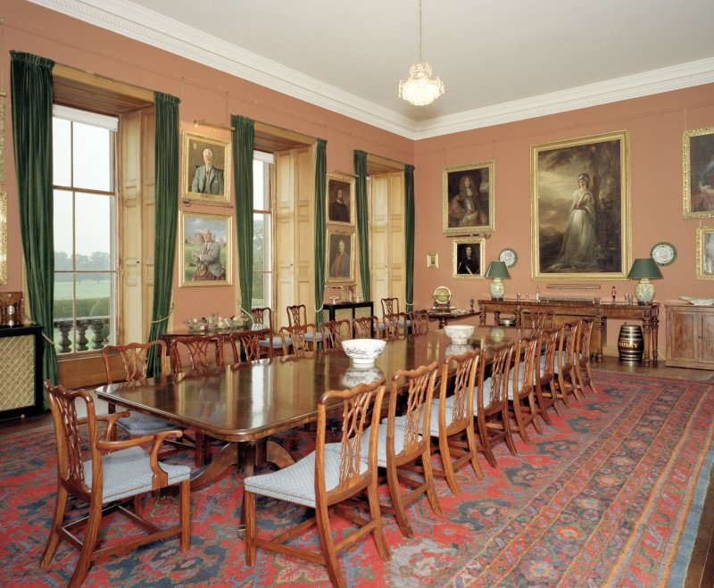 Interior.  1st floor.  Dining room