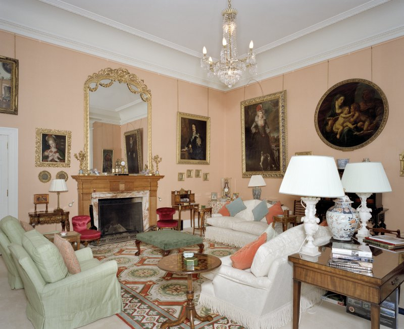 Interior.  1st floor.  Drawing room