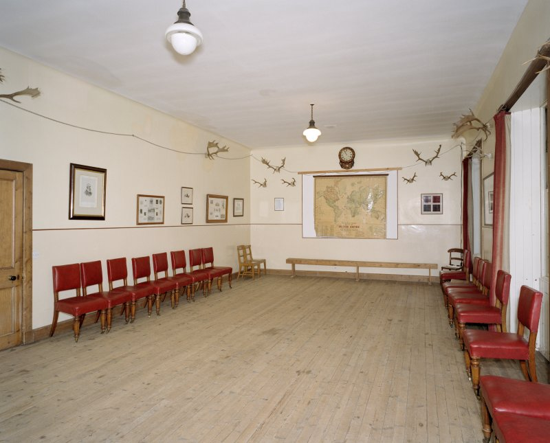 Interior. Ground floor.  Servants hall
