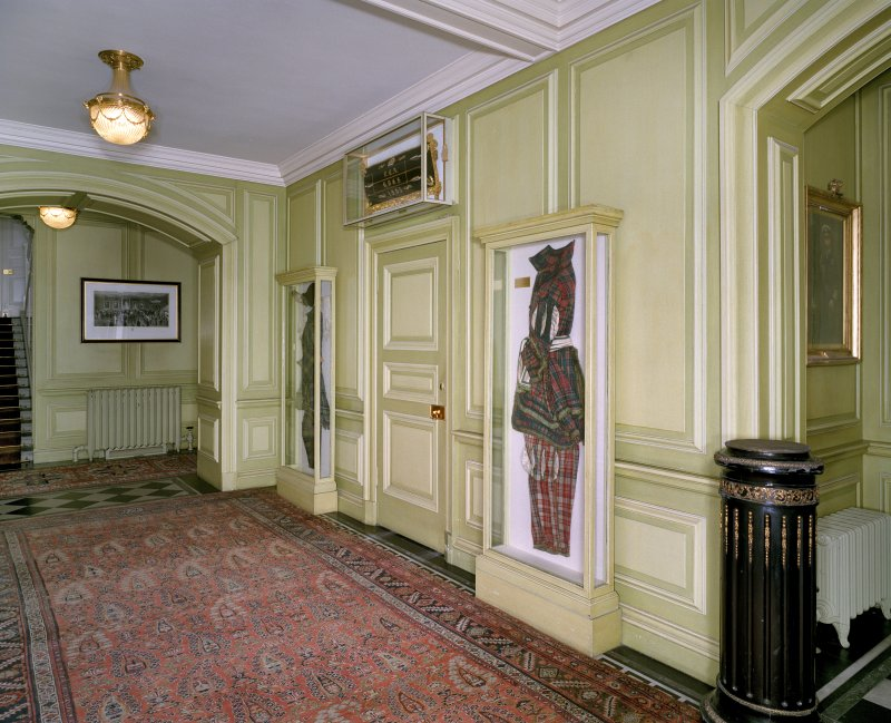 Interior. Ground floor view of entrance hall